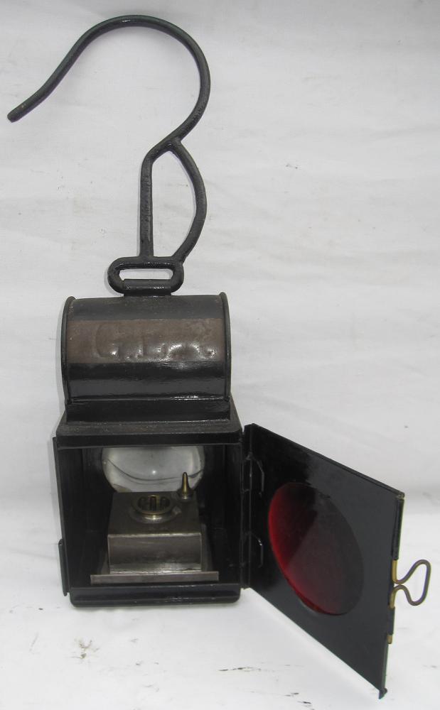 GER Train Splitting Lamp Stamped GER On Front
