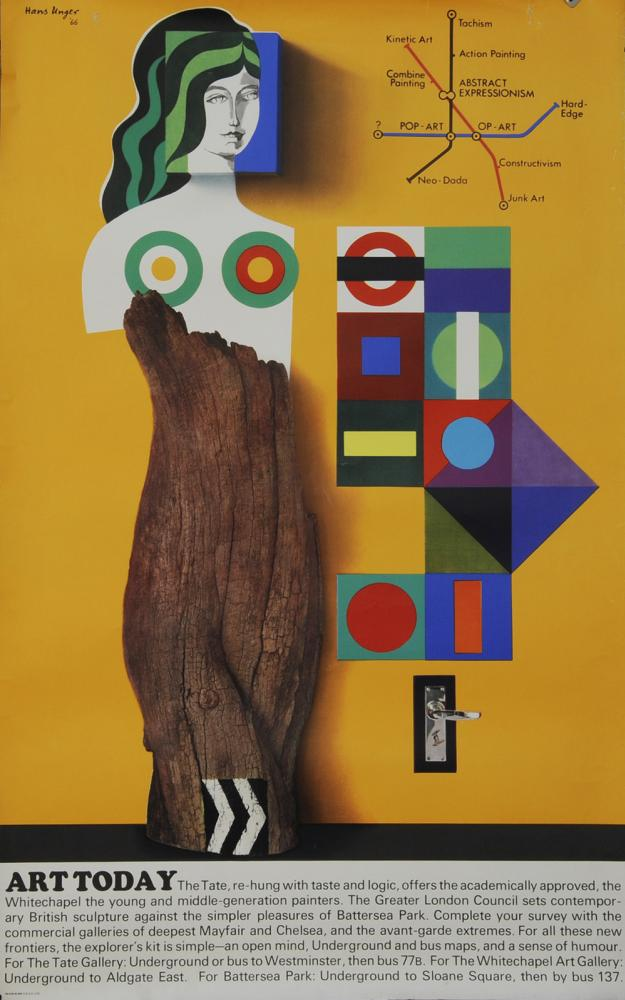 Poster, London Underground 'Art Today - The Tait