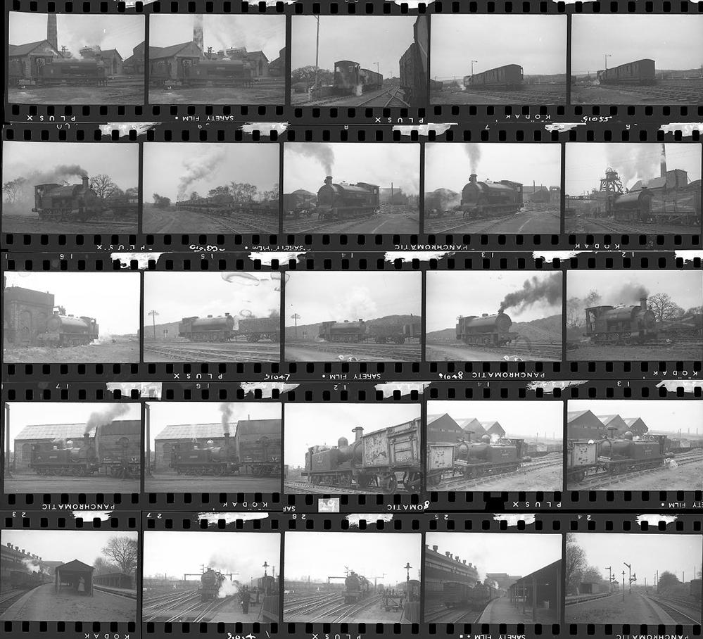 Approximately 100, 35mm Negatives. Includes