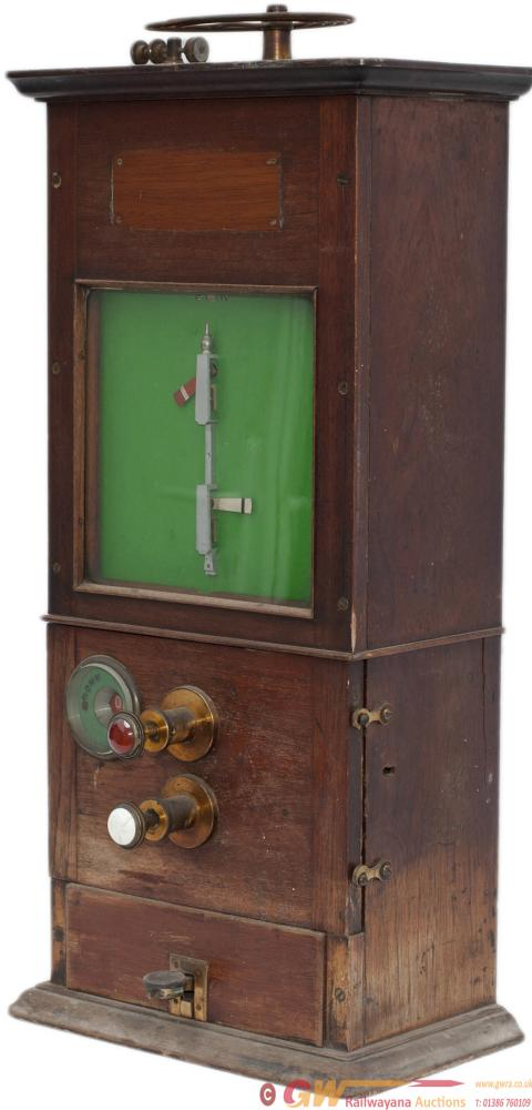 Caledonian Railway Tyers 2 Needle Mahogany Cased