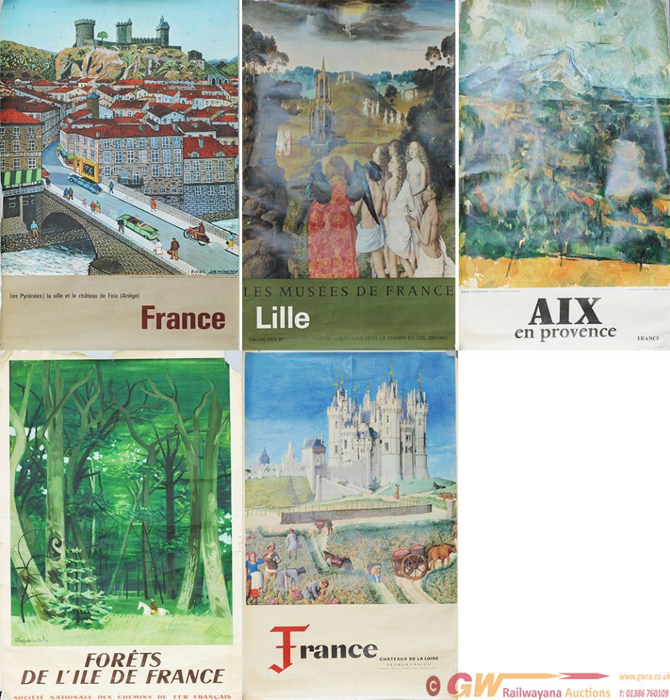 Posters, Qty 5 French Double Royal 25in X 40in To