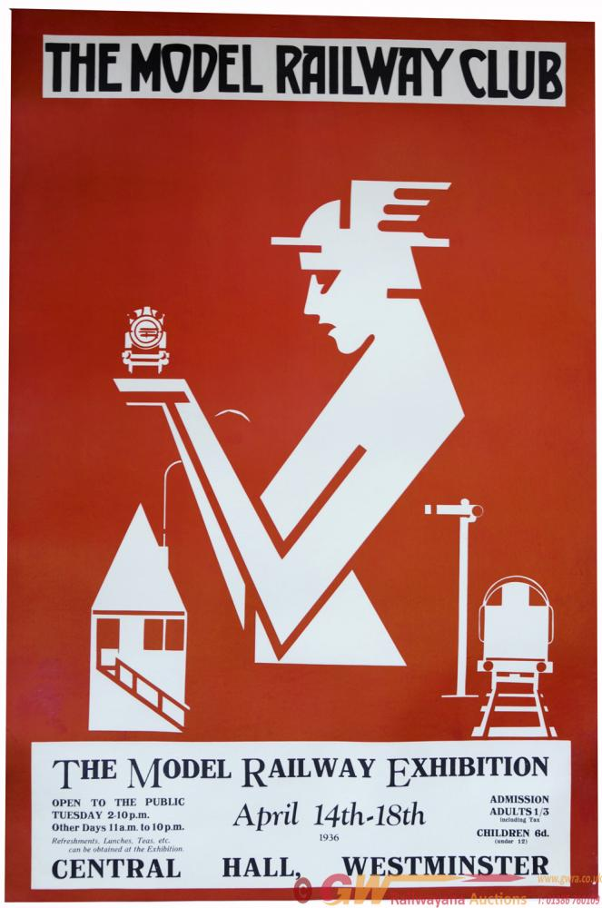 Advertising Poster, 'The Model Railway Exhibition