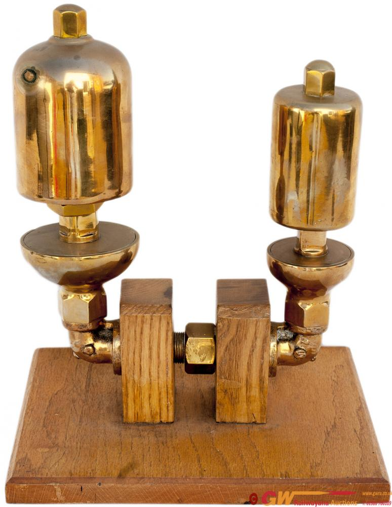 GWR Brass Locomotive Whistles Large And Small