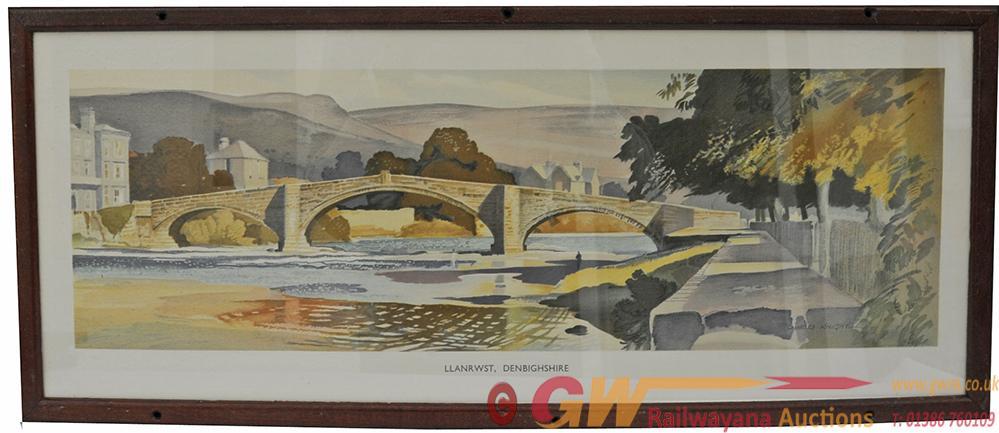 Carriage Print 'Llanwrst, Denbighshire' By Charles