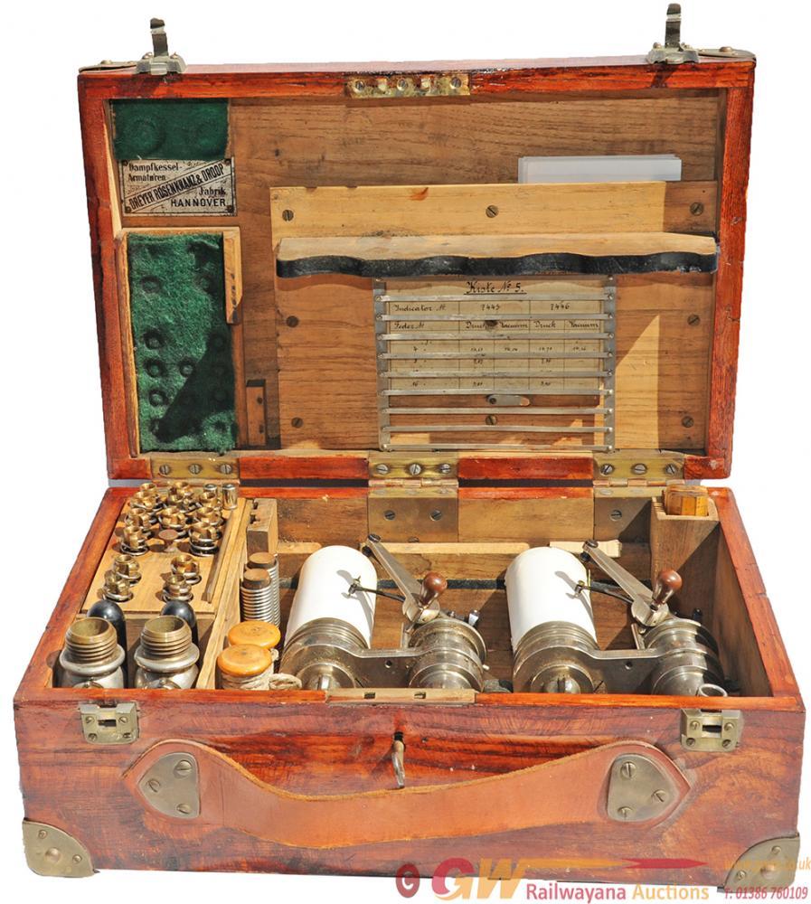 Original Steam Indicator Instrument Manufactured