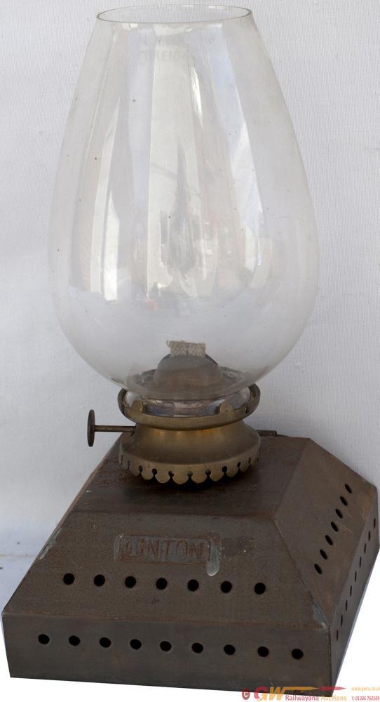 Great Eastern Railway Platform Lamp Interior,