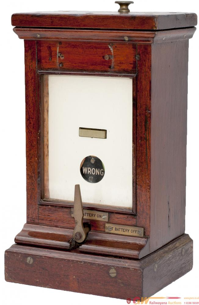 GWR Single Slot Indicator Complete With Battery On
