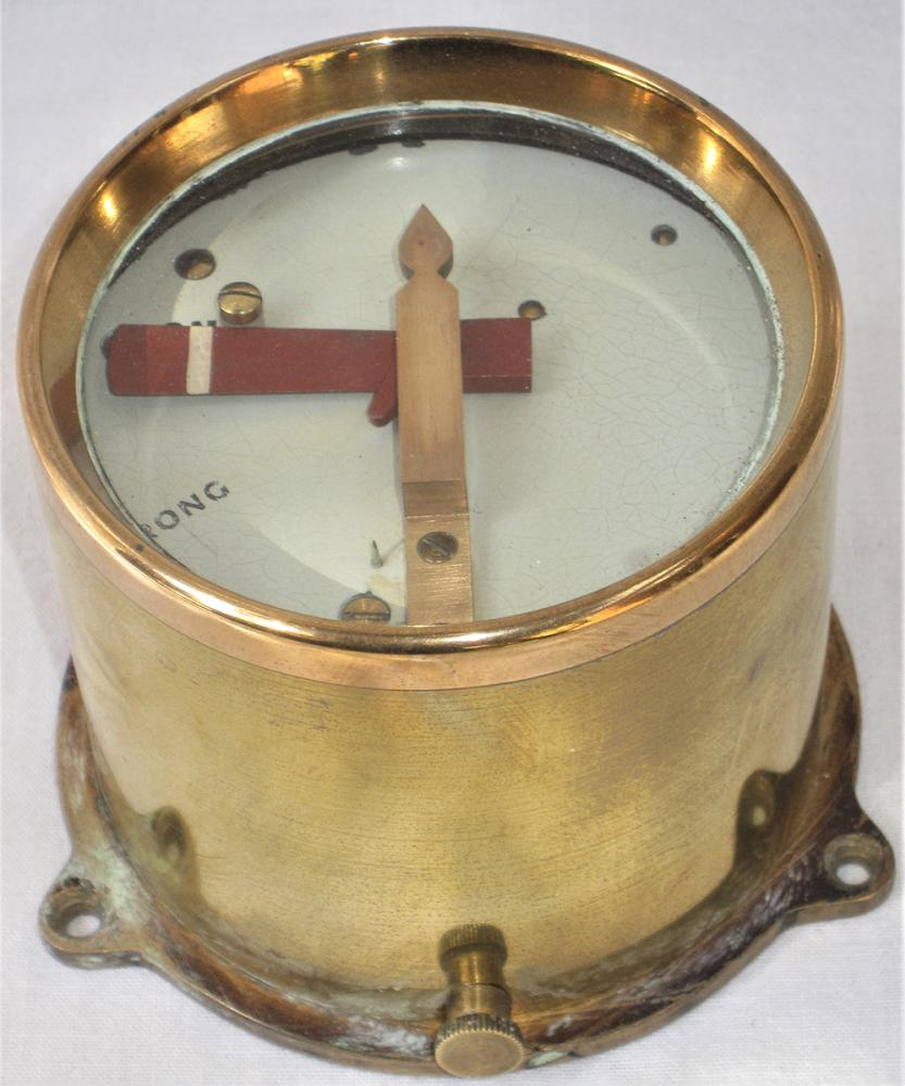 GWR Brass Cased Home Signal Repeater In Excellent