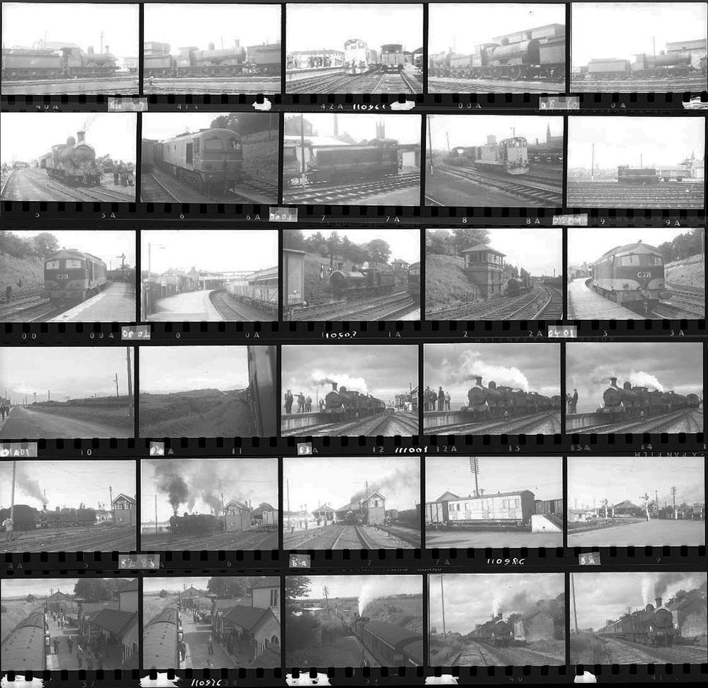 Approximately 135, 35mm Negatives. Includes