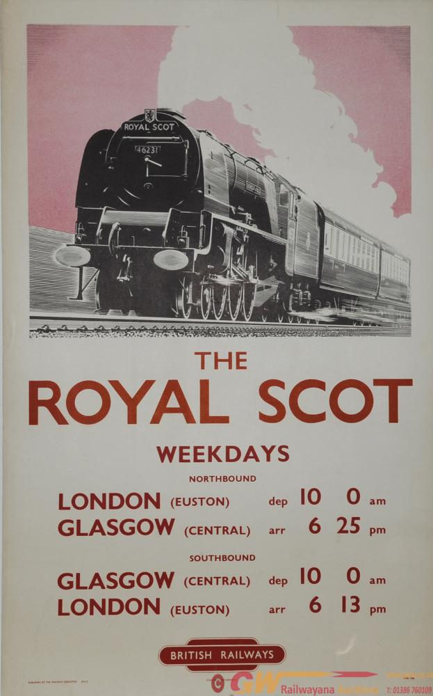 Poster BR(LM) The Royal Scot