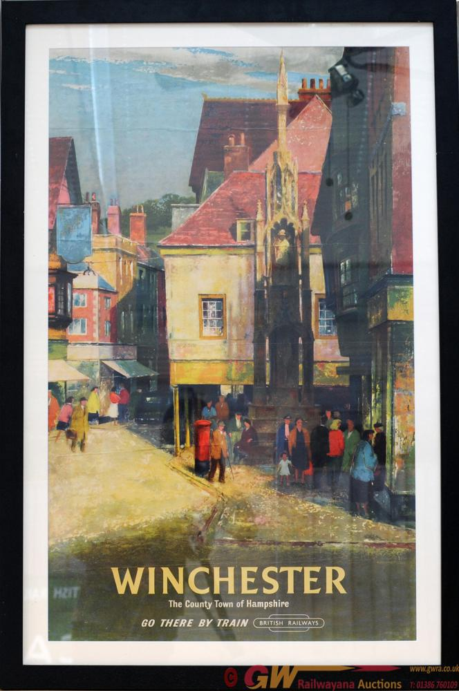 Poster British Railways 'Winchester Go There By