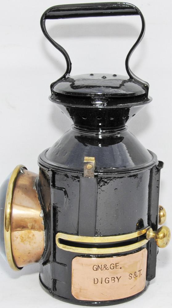 LNER, GER Pattern Sliding Knob Handlamp Dated 1932