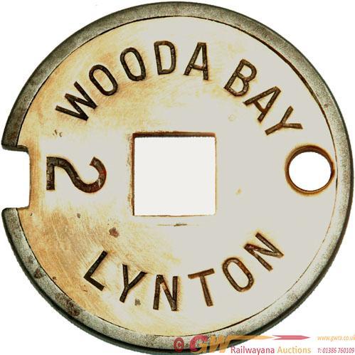 Lynton & Barnstaple Railway Steel & Brass Tyers