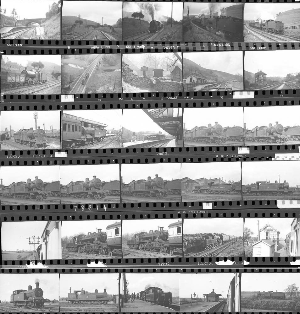 Approximately 97, 35mm Negatives. Includes
