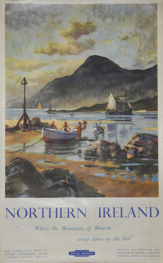 Poster, British Railways 'Northern Ireland - Where