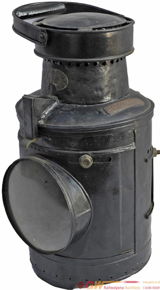 Great Northern Railway Large Signal Lamp Plated On