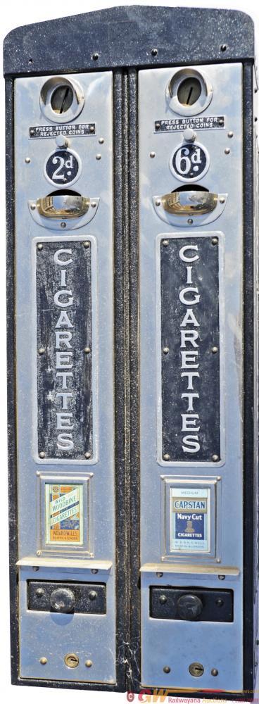 Cigarette Platform Vending Machines Mounted As A