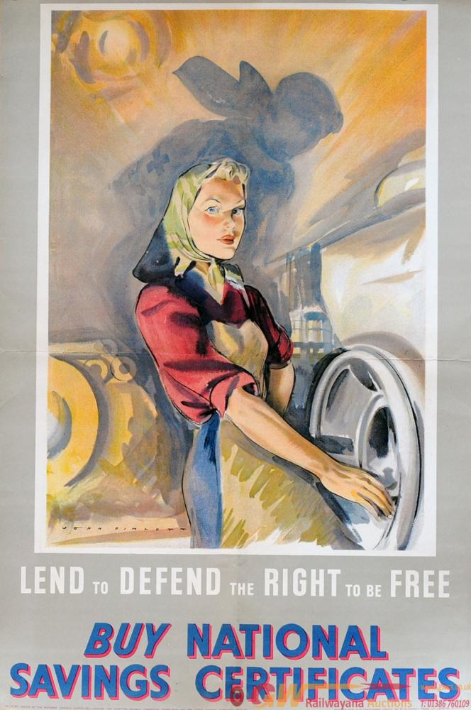 Poster 'Lend To Defend The Right To Be Free - Buy