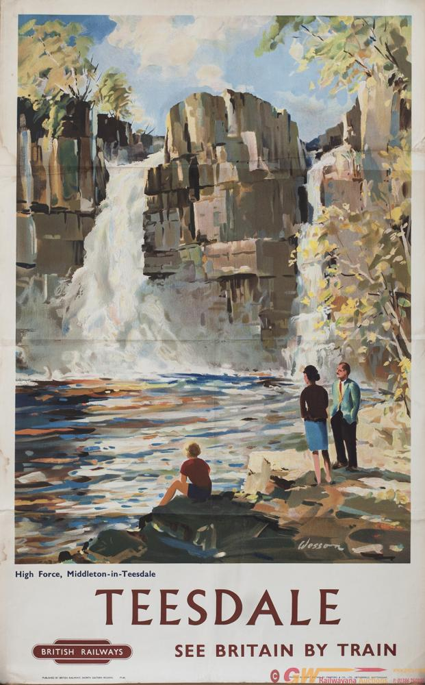 Poster BR(NE) TEESDALE HIGH FORCE,