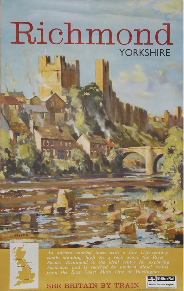 Poster BR  'Richmond Yorkshire' By Leonard