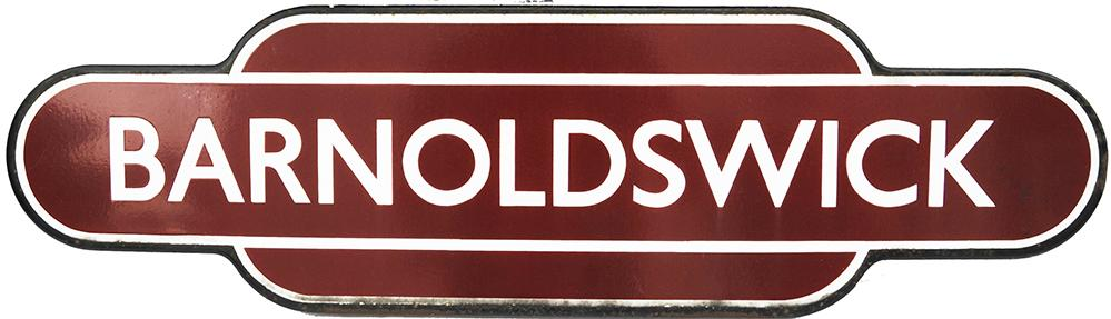 Totem BR(M) BARNOLDSWICK, F/F. Ex Midland Railway