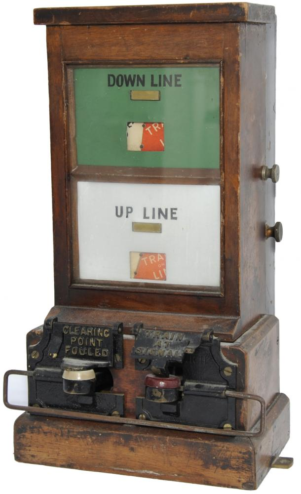 GWR 'Spagnoletti' Block Instrument With Both Flaps
