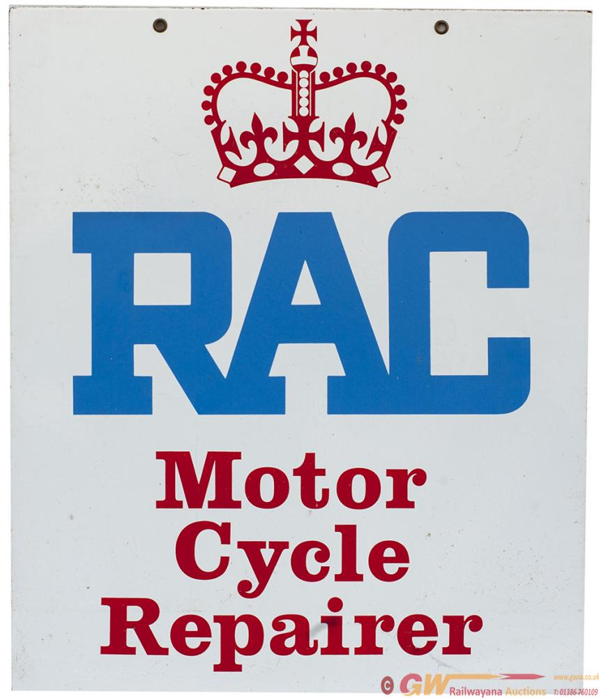 Motoring Advertising Double Sided Sign RAC