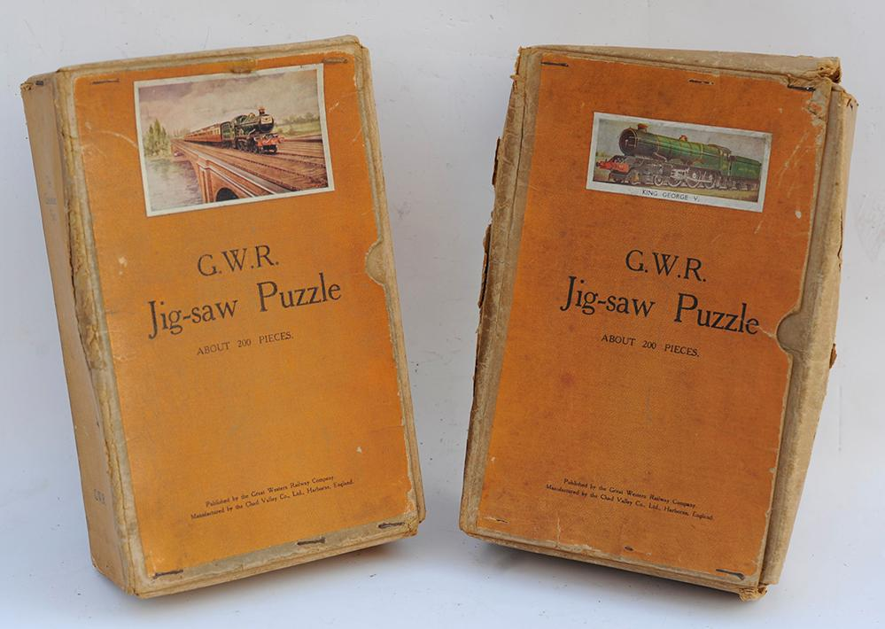 2 X GWR Jigsaws. The Cheltenham Flyer And King