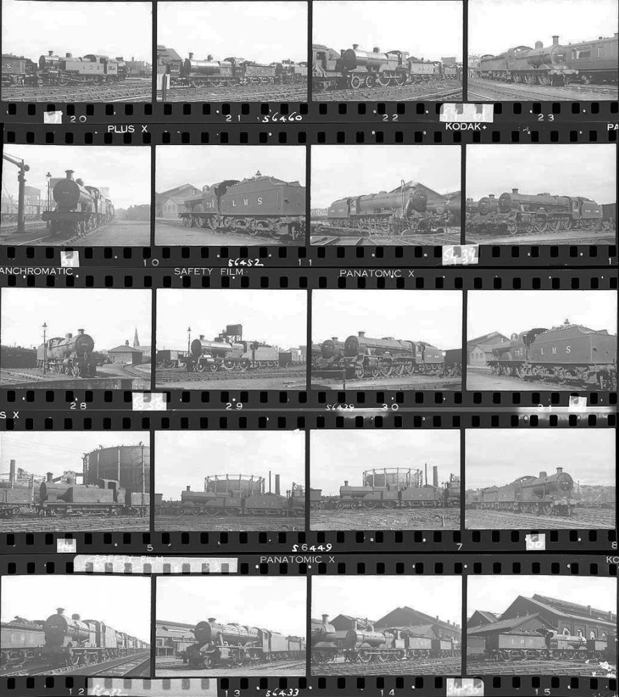 Approximately 95, 35mm Negatives. Includes Derby,