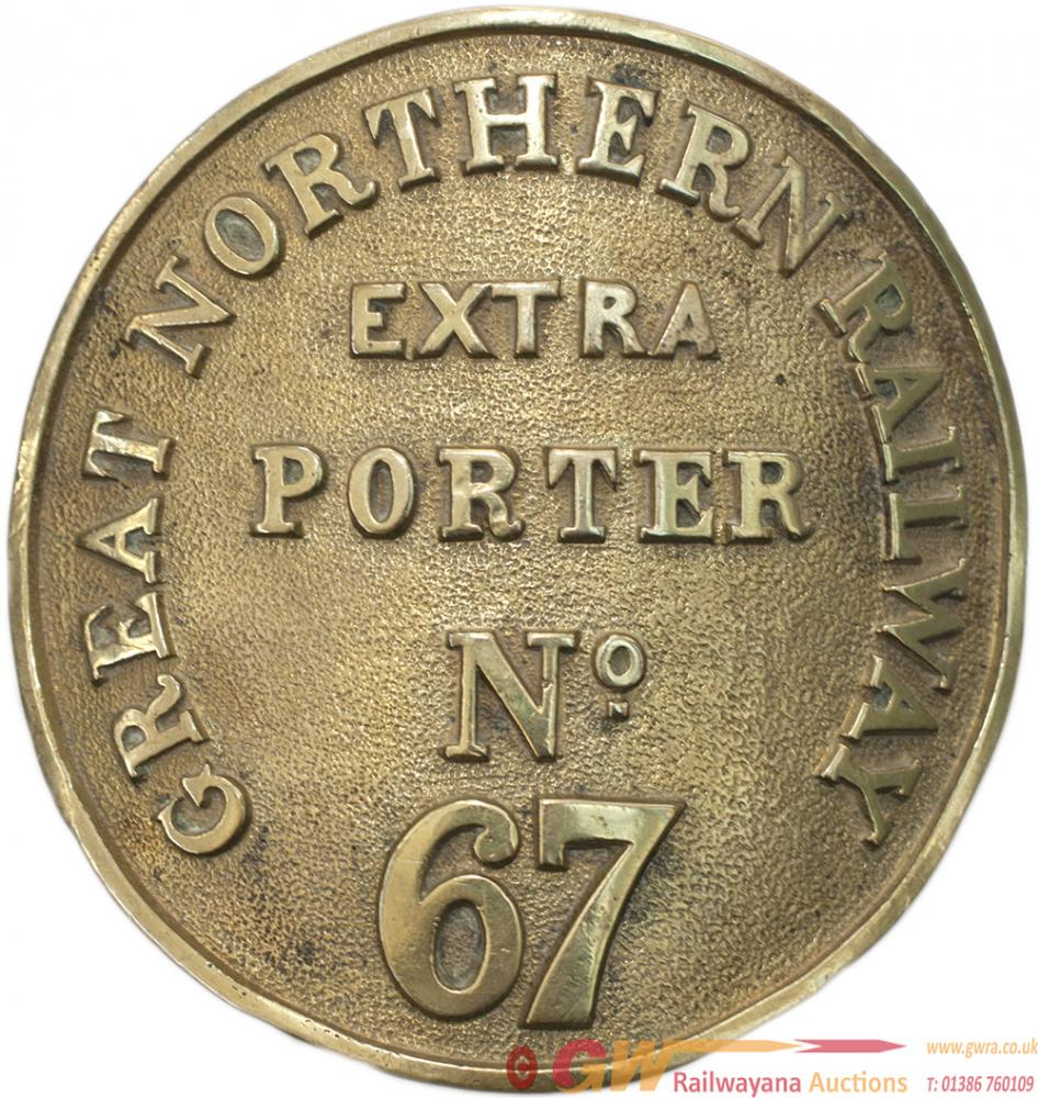 GNR Porter?S Armband GREAT NORTHERN RAILWAY EXTRA