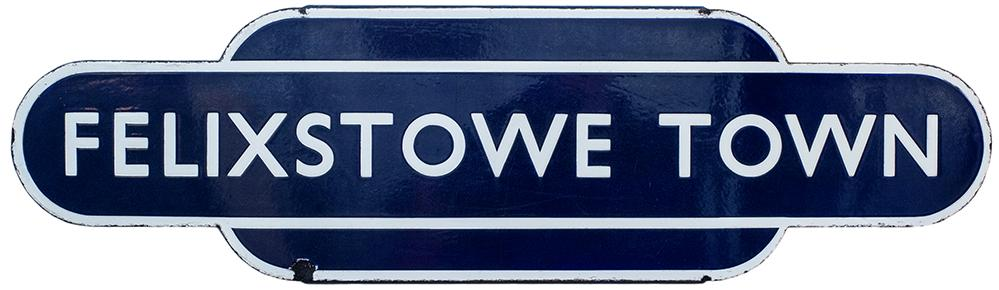 Totem BR(E) HF FELIXSTOWE TOWN From The Former