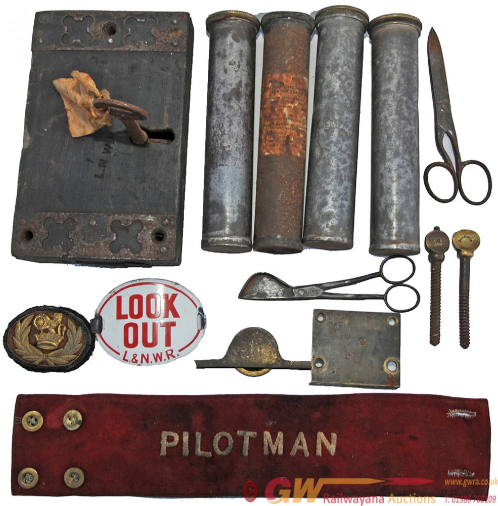 A Collection Of Items Recovered From Llangunllo