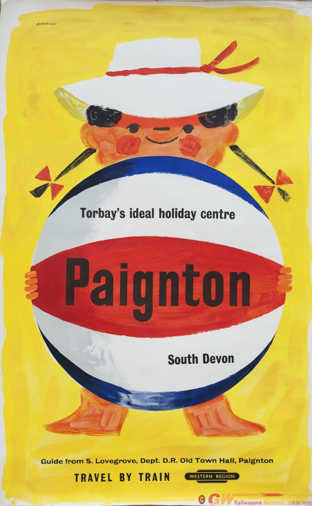 Poster BR PAIGNTON TORBAYS IDEAL HOLIDAY CENTRE