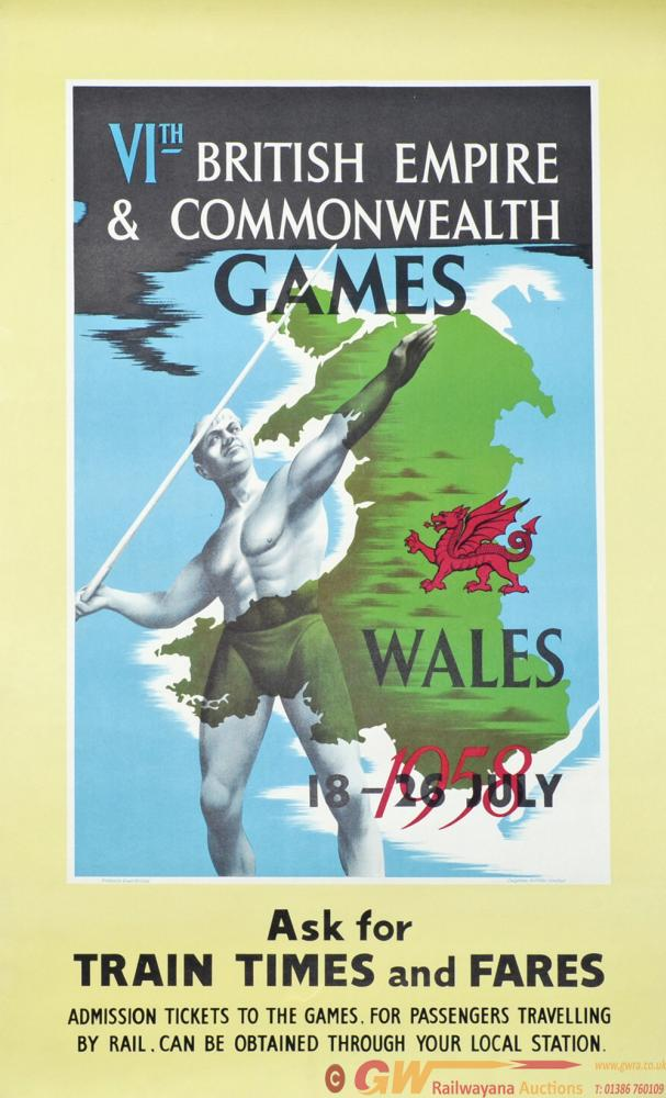 Poster 'VIth British Empire And Commonwealth Games