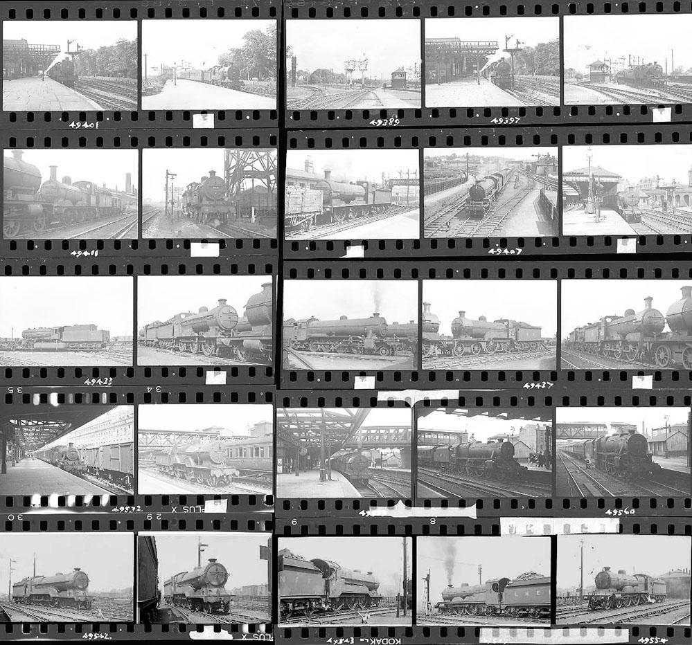 Approximately 110, 35mm Negatives. Includes Trent,