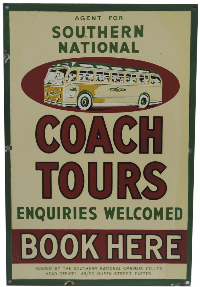 Enamel Advertising Sign Agent For Southern