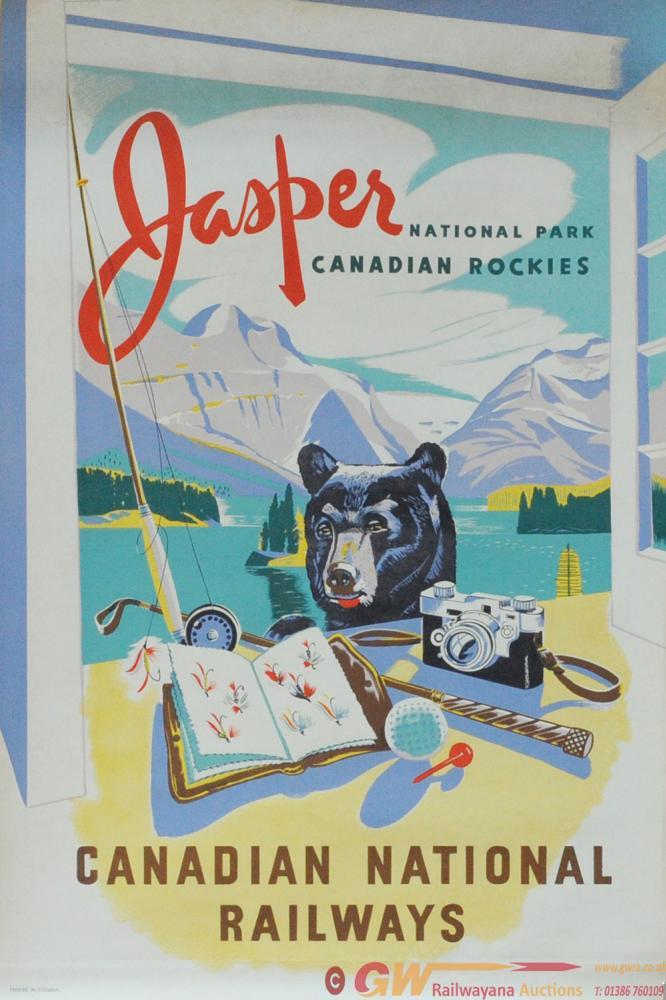 Poster - Canadian National Railways 'Jasper -