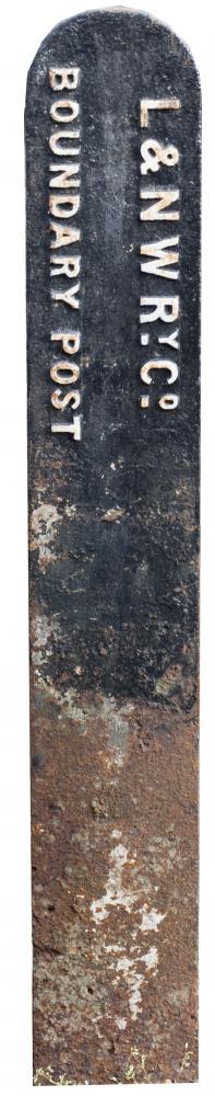 LNWR Tombstone BOUNDARY POST.
