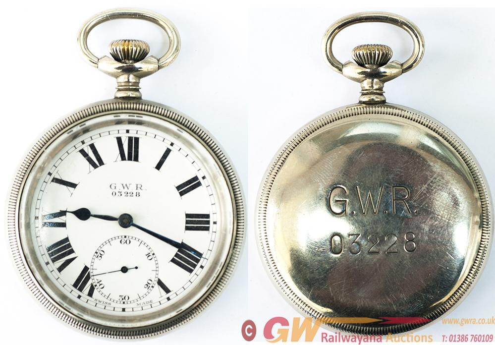 Great Western Railway Guards Watch No 03228. In A