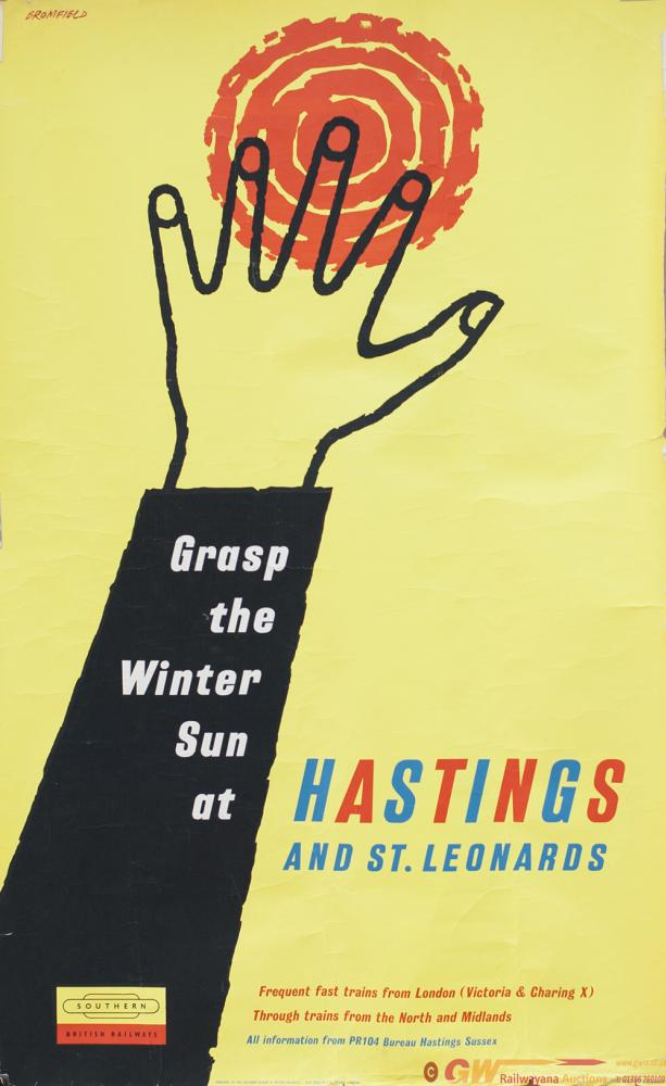Poster BR(S) GRASP THE WINTER SUN AT HASTINGS AND