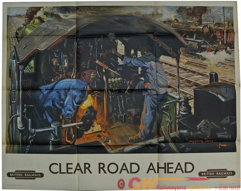 Poster BR 'Clear Road Ahead' By Terence Cuneo,