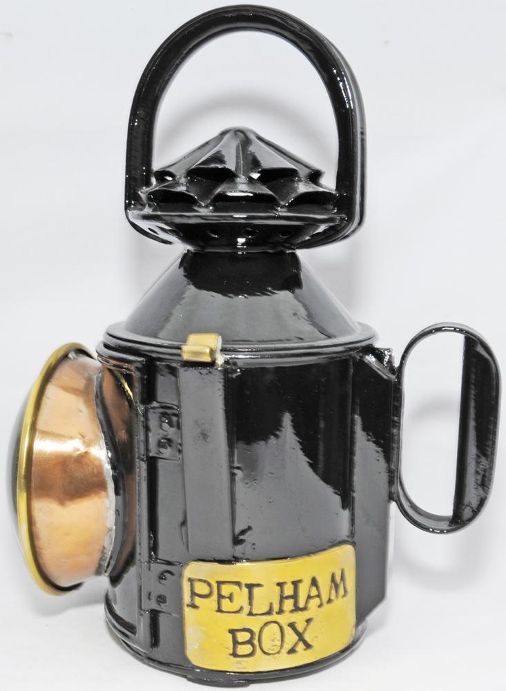 GNR Double Pie-Crust Handlamp With Single Brass