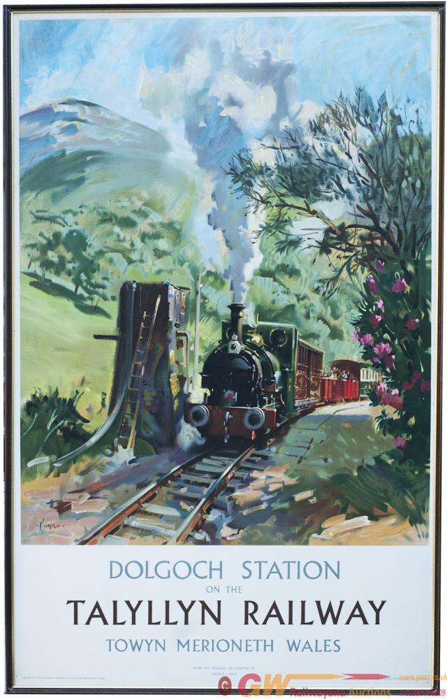 Poster TALYLLYN DOLGOCH STATION TOWYN, MERRIONETH