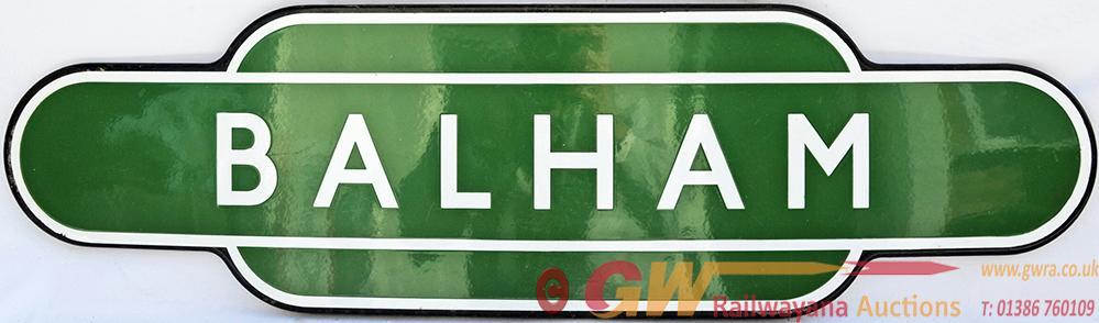Totem BR(S) BALHAM, F/F Dark Green With Black
