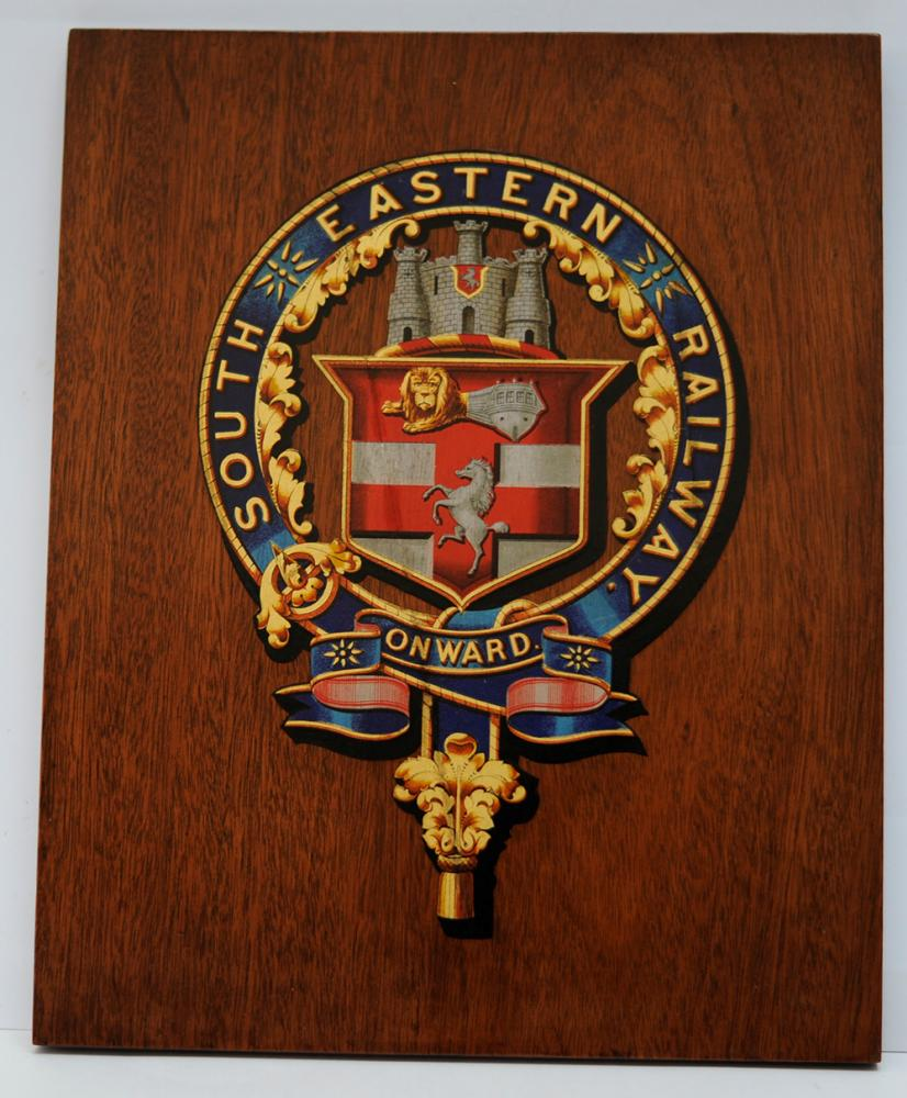 Ser Mounted Crest. The Company Coat Of Arms