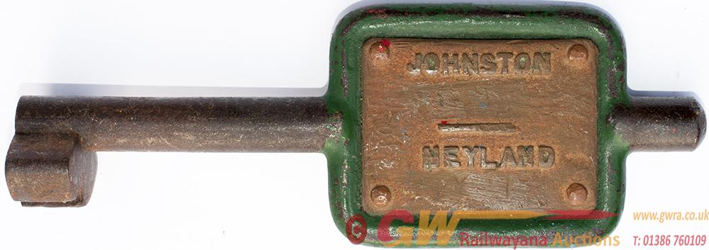 GWR Tyers no9 Single Line Steel Key Token With 2
