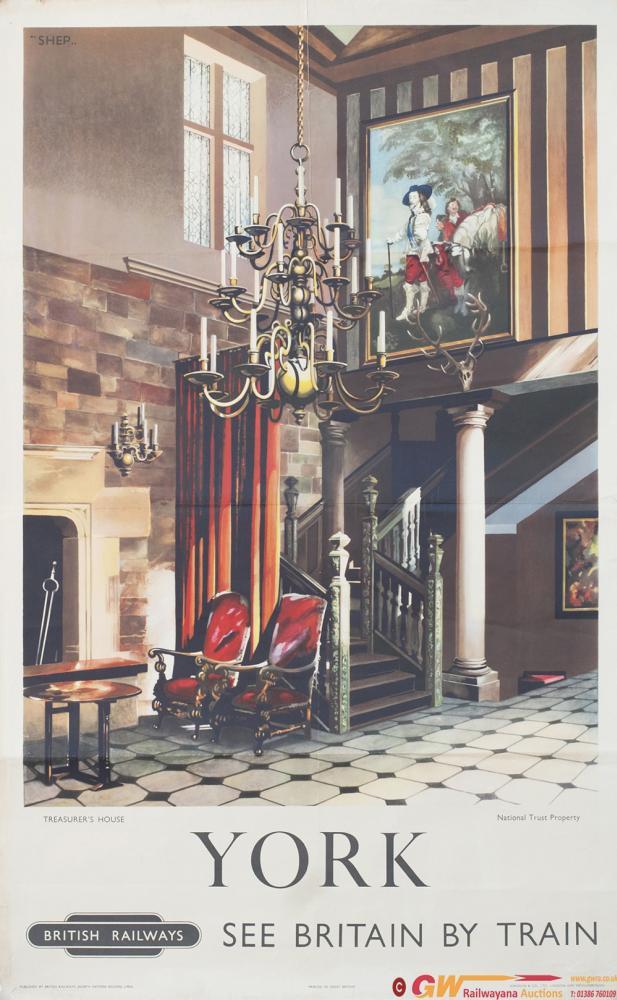 Poster BR(NE) YORK TREASURER'S HOUSE NATIONAL