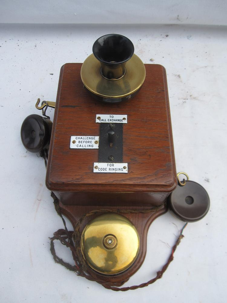 LSWR Box To Box TELEPHONE In Excellent Condition.