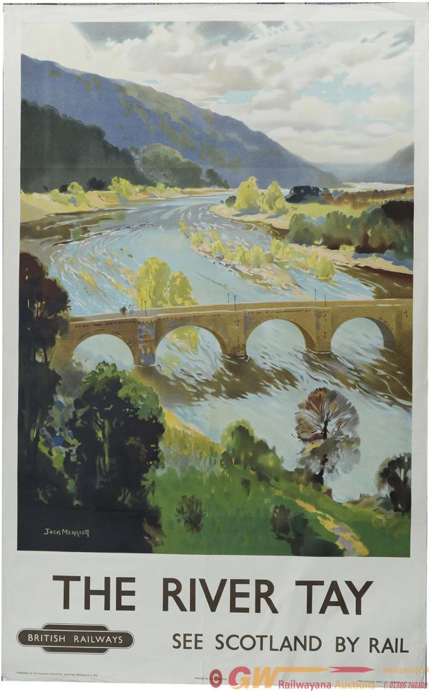 Poster, BR(Sc) 'The River Tay - See Scotland By