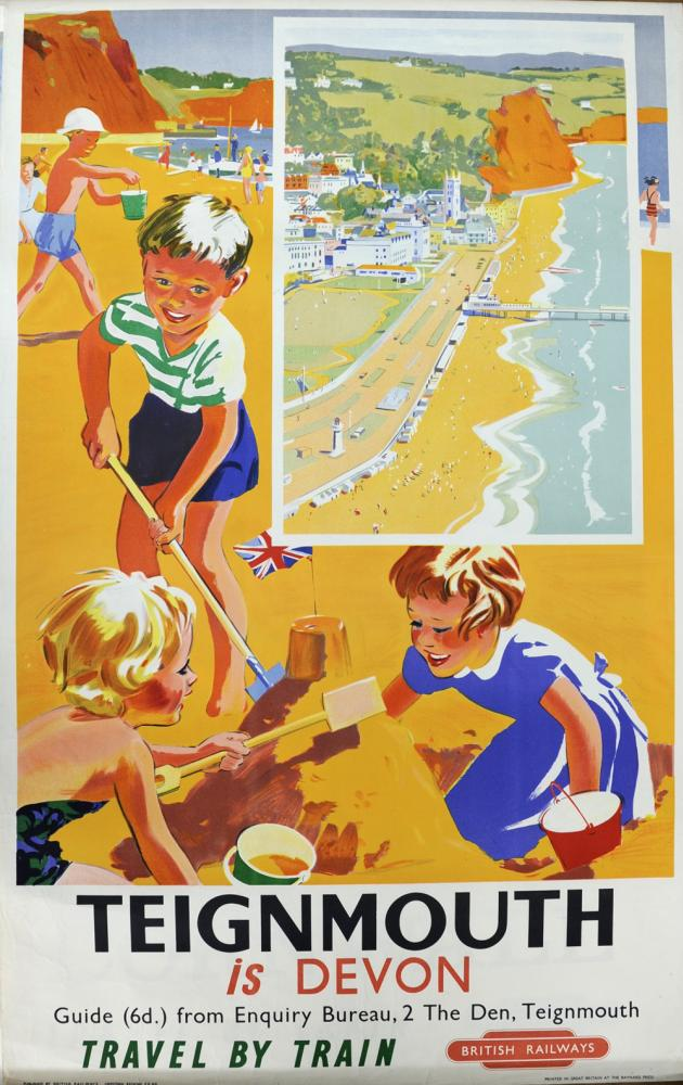 BR Poster, 'Teignmouth Is Devon', Anon, Double